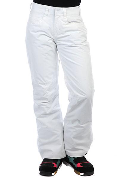 Штаны сноубордические женские Roxy Backyard White