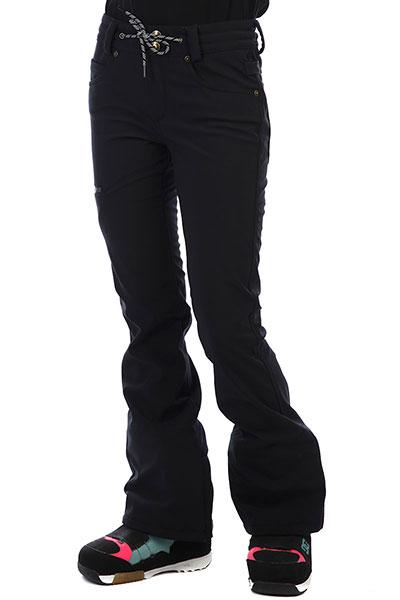 Штаны сноубордические женские DC Viva Softshell Black