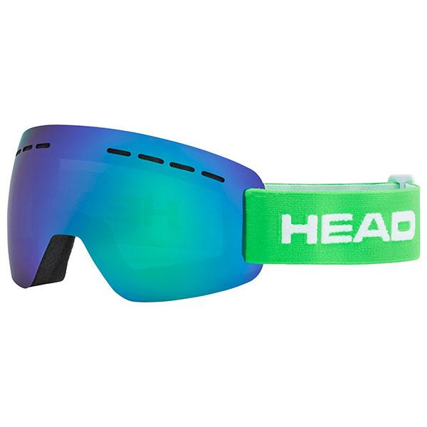Маска для сноуборда Head Solar Green