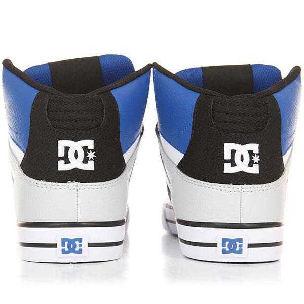 Кеды высокие DC Pure Ht Wc Black/White/Blue
