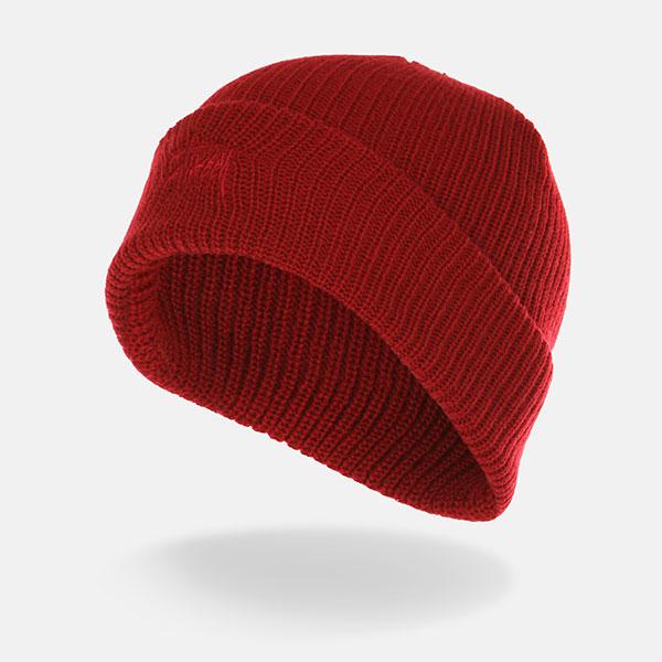 Шапка Stussy Basic Cuff Beanie Red