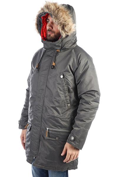 Куртка парка Запорожец Alaska Gray