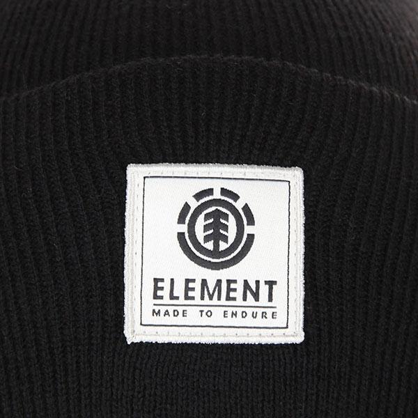Шапка Element Dusk Ii Beanie A Flint Black