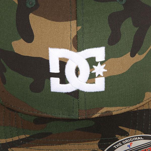 Бейсболка с прямым козырьком DC Cap Star 2 Camo