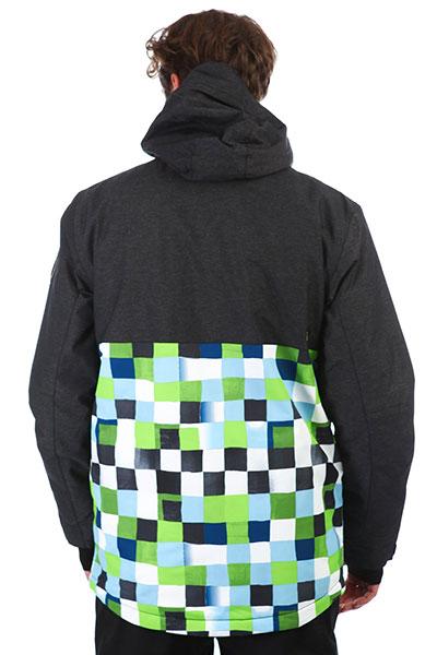 Куртка QUIKSILVER Sierra Lime Green_check Ato
