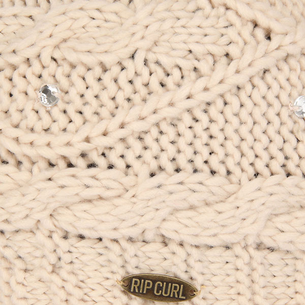 Шапка женская Rip Curl Knit Pow Crystal Gray