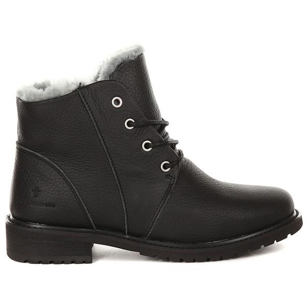 Ботинки женские EMU Australia Kan Черные