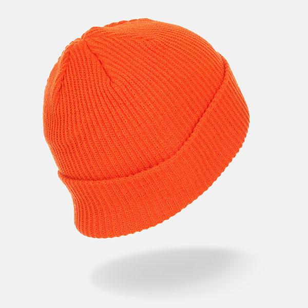 Шапка Stussy Small Patch Watchcap Beanie Orange