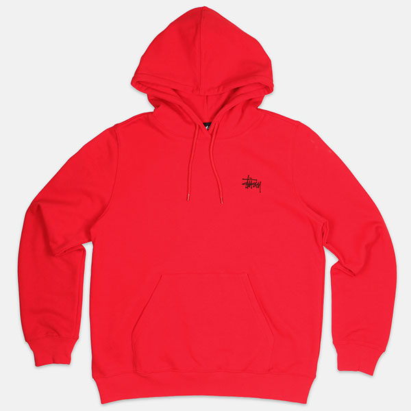 Толстовка Stussy Scout Hoodie Red