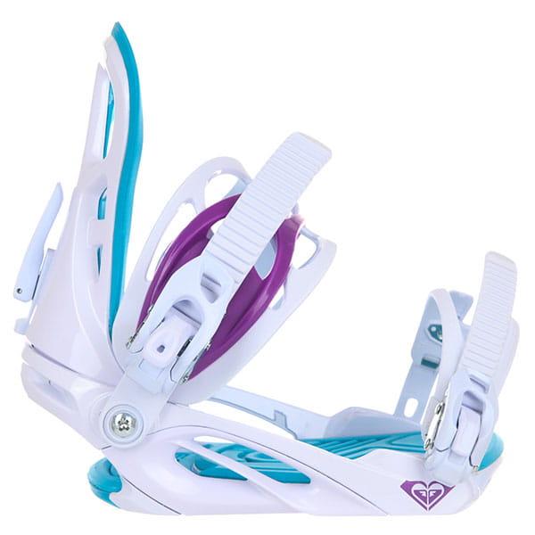 Крепления для сноуборда женские Roxy Classic White/Blue