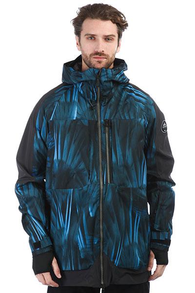 Куртка сноубордическая QUIKSILVER Tr Stretch Daphne Blue_stellar