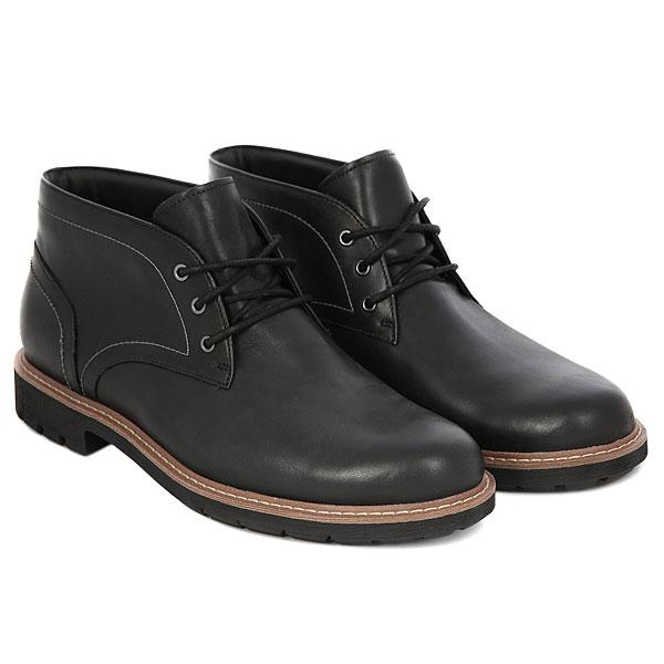 Ботинки высокие Clarks Batcombe Lo Black