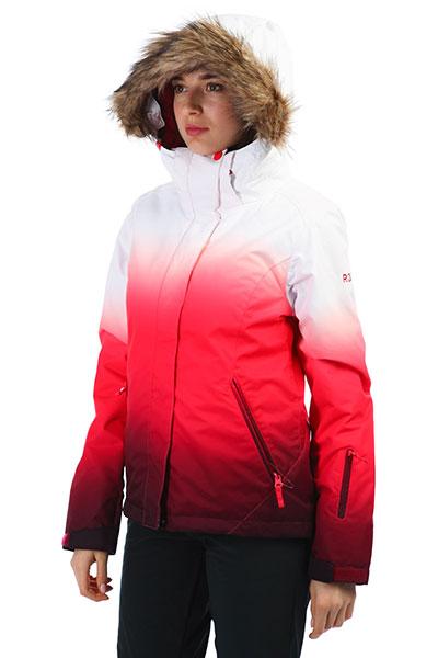 Куртка женская Roxy Jet Ski Se Tea Berry_wave Gradi