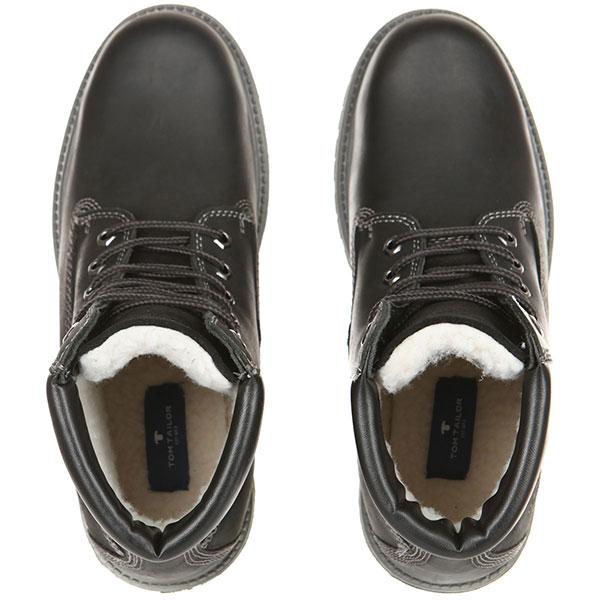 Ботинки Tom Tailor Shoes Collection 5889601 Черные