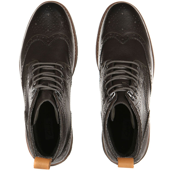 Ботинки Clarks Batcombe Lord Серые