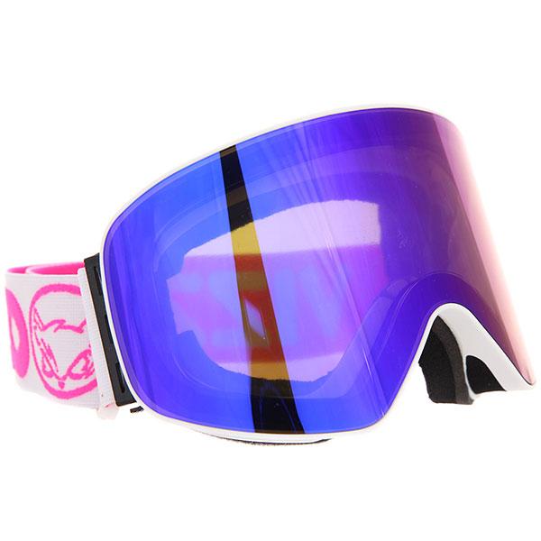 Маска для сноуборда Vizzo Affect Blue Ionized White Frame