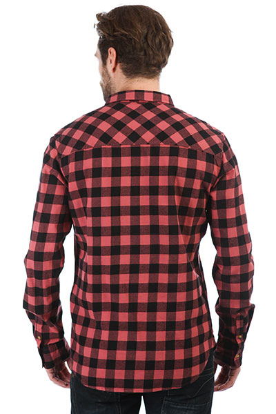 Рубашка в клетку Rip Curl Check It Mineral Red