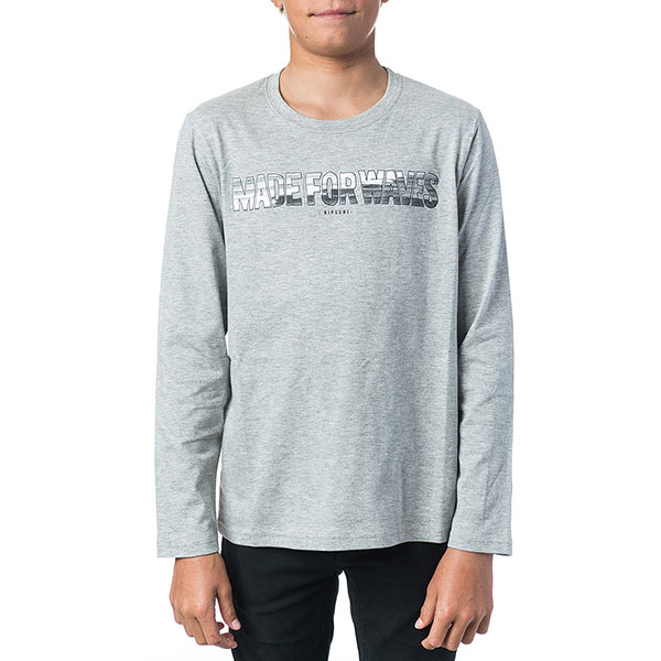 Лонгслив детский Rip Curl Made For Waves Cement Marle