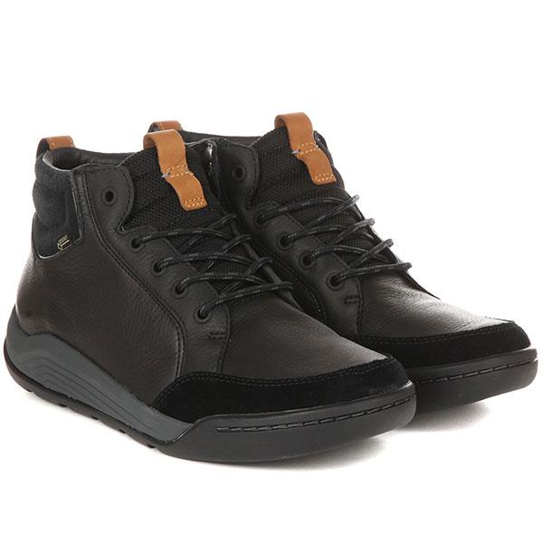 Ботинки мужские Clarks AshcombeMidGTX Черные