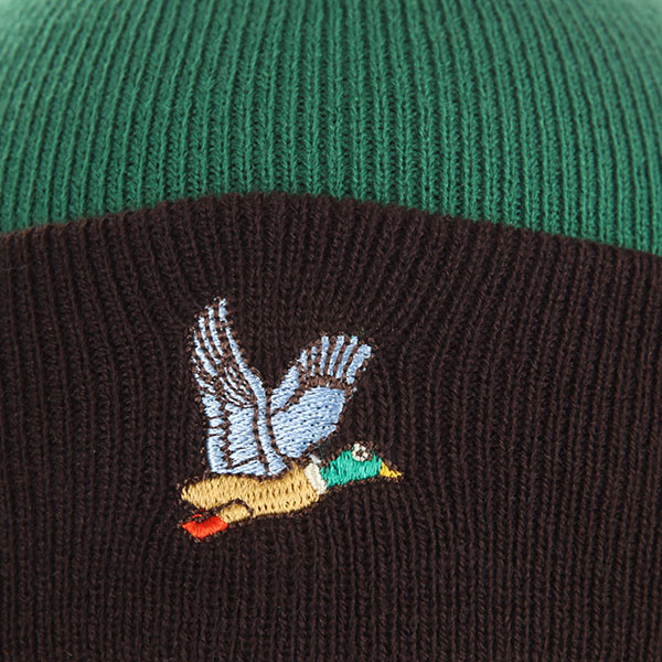 Шапка TrueSpin Ditch Fw18 Dk.green/Brown
