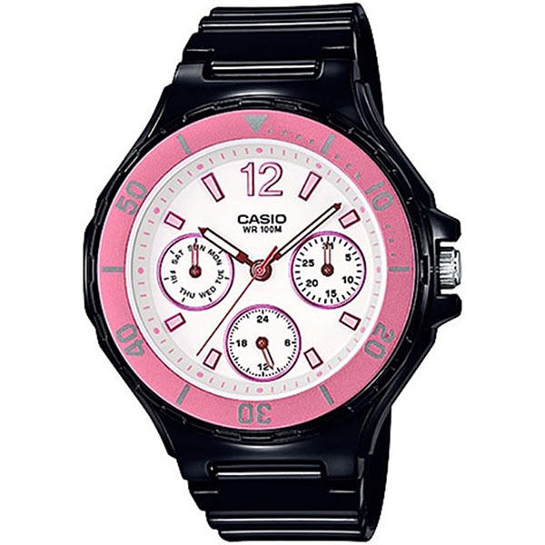 Кварцевые часы женские Casio Collection 69152 lrw-250h-1a3vef