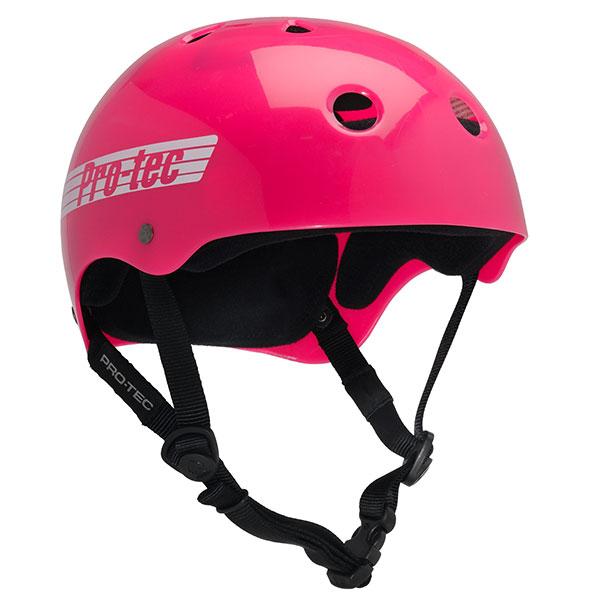 Шлем для сноуборда женский Pro-Tec Classic Skate Pink Retro