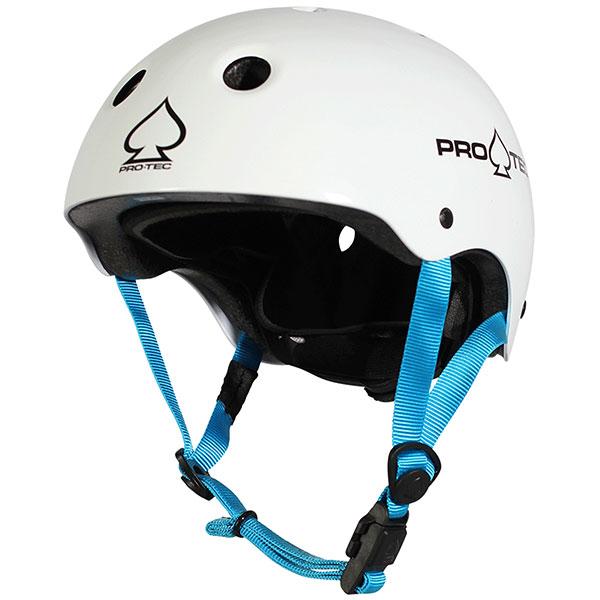 Шлем для скейтборда Pro-Tec Jr. Classic Fit Cert Gloss White