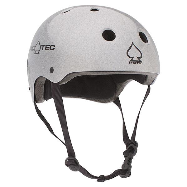 Шлем для скейтборда Pro-Tec Classic Skate Silver Flake