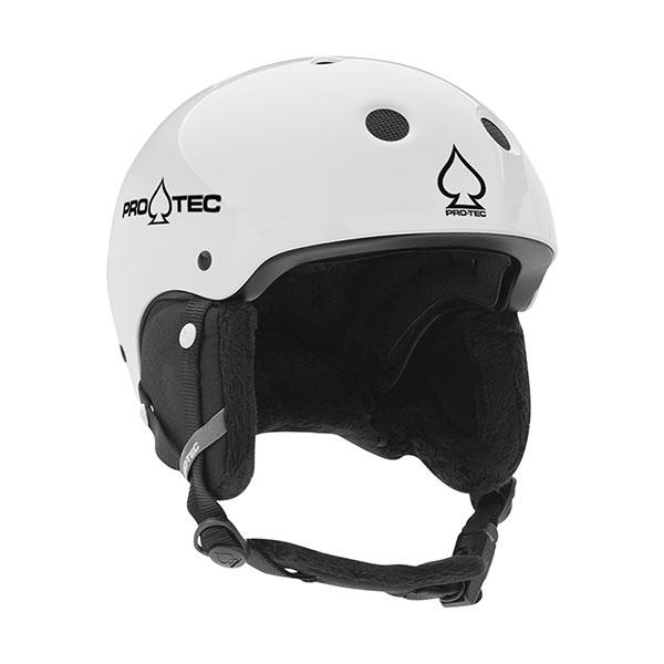 Шлем для сноуборда Pro-Tec Jr. Classic Certified Snow Gloss White