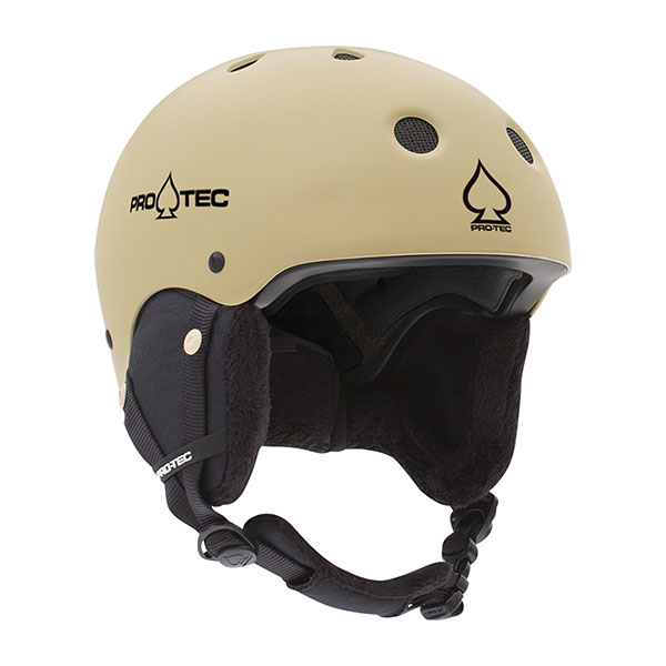Шлем для сноуборда Pro-Tec Jr. Classic Certified Snow Matte Sand