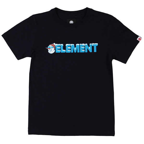 Футболка детская Element Snow Ss Tee Boy 2 Eclipse Navy