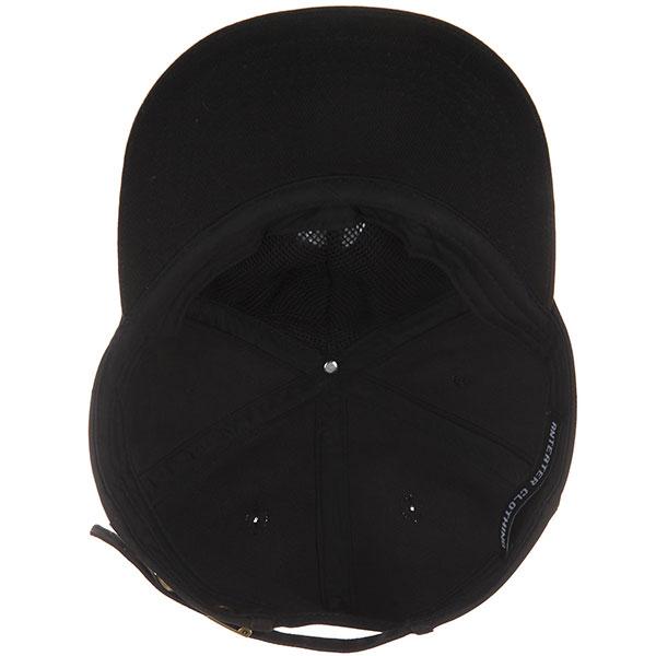 Бейсболка с прямым козырьком Anteater 6panel black