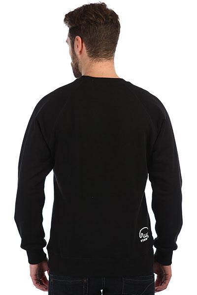 Толстовка свитшот Anteater Crewneck-revo Black