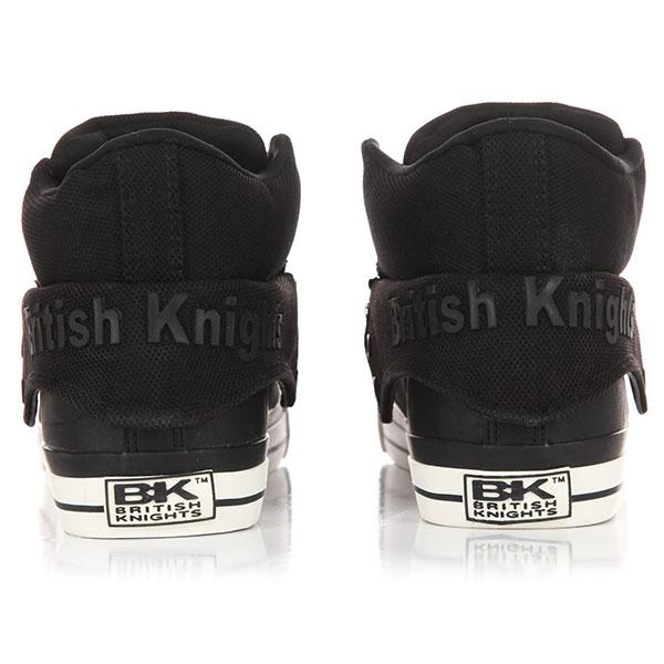 Кеды высокие British Knights Roco Kpu Black