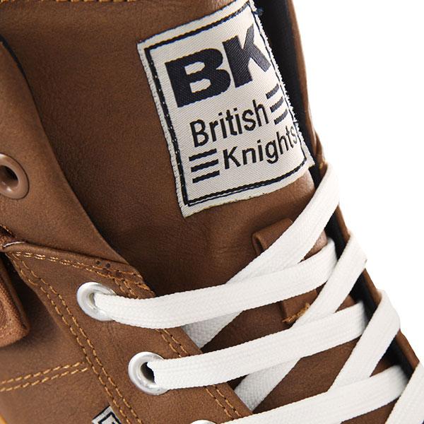 Кеды высокие British Knights Roco Brown/Navy