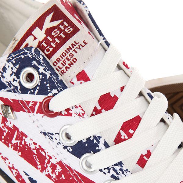 Кеды низкие British Knights Master Lo Union Jack - Textile