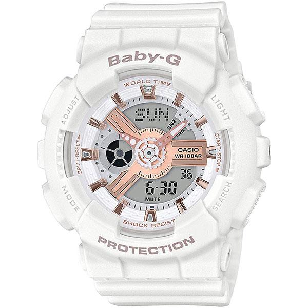 Электронные часы Casio G-Shock Baby-g Ba-110rg-7aer White