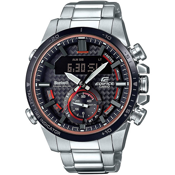 Электронные часы Casio Edifice Ecb-800db-1aef Grey