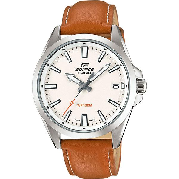 Кварцевые часы Casio Edifice Efv-100l-7a Grey/Brown