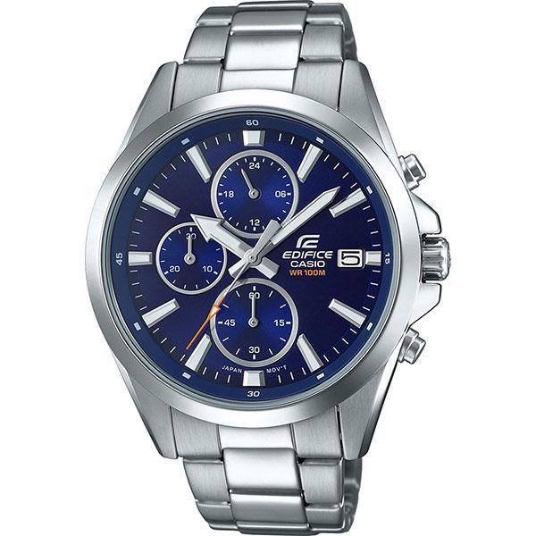 Кварцевые часы Casio Edifice Efv-560d-2a Grey