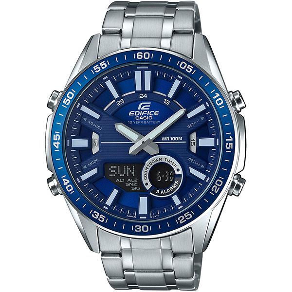 Кварцевые часы Casio Edifice Efv-c100d-2avef Grey