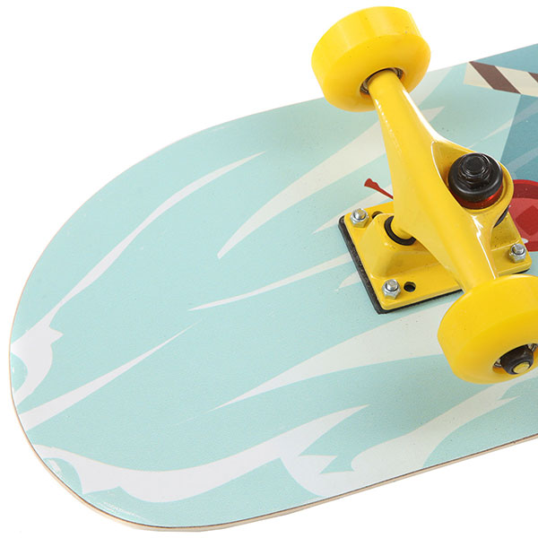 Скейтборд в сборе Turbo-FB Ice Cream Multicolor 31.5 x 8.25 (21 см)