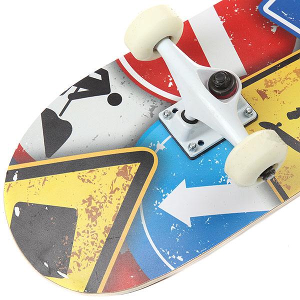 Скейтборд в сборе Turbo-FB Signs Multicolor 31.5 x 8.25 (21 см)
