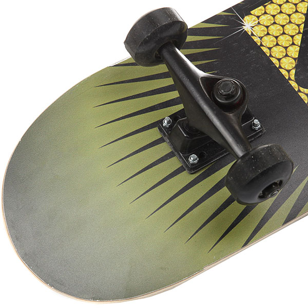 Скейтборд в сборе Turbo-FB Logo Multicolor/Black