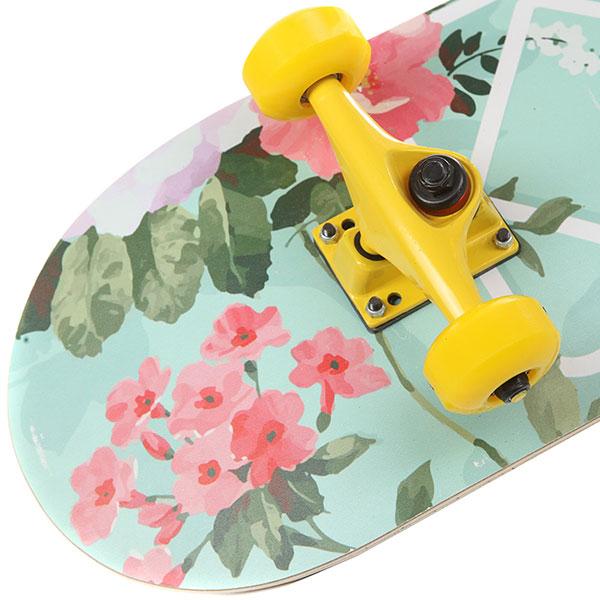 Скейтборд в сборе Turbo-FB Turbo Light Multicolor/Yellow 31.5 x 8.25 (21 см)