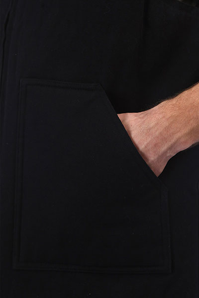 Жилетка Huf Kilo Whiskey Vest Black