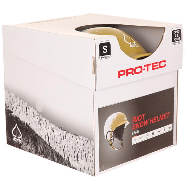 Шлем для сноуборда Pro-Tec Riot Certified Snow Fade