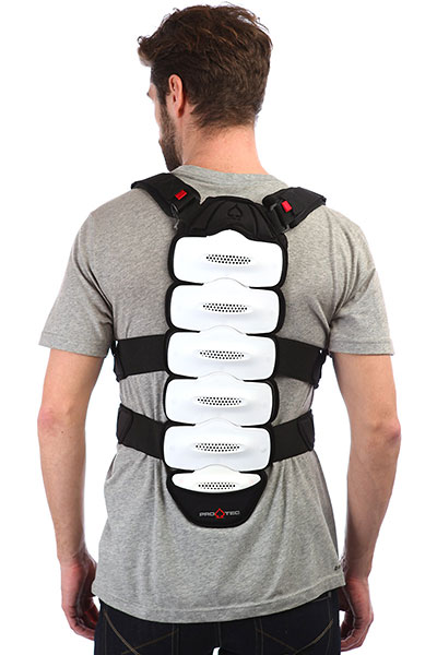 Защита на спину Pro-Tec Ips Back Protector Black/Grey/Red