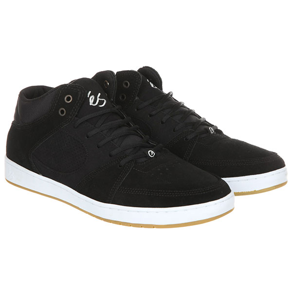 Кеды высокие Es Accel Slim Mid Black/White/Gum