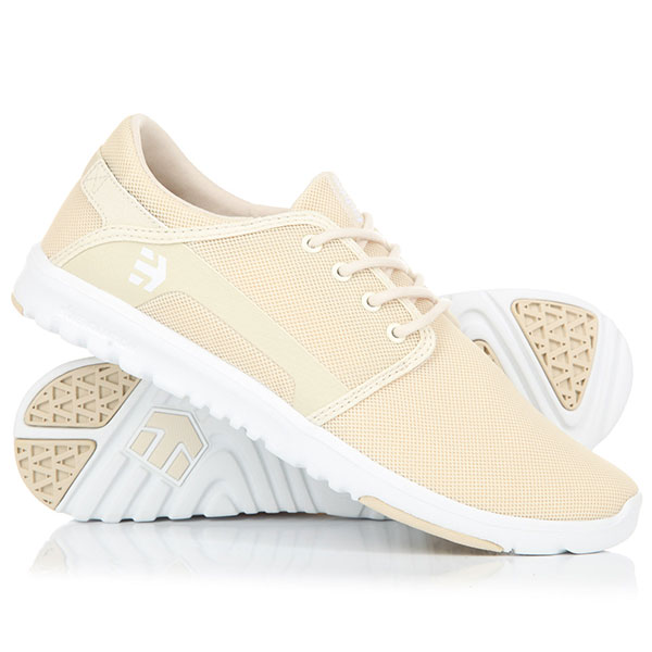 Кроссовки Etnies Scout Tan/White